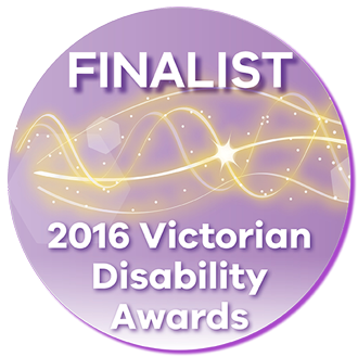 Victorian Disability Sector Awards 2015 finalist
